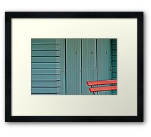 Changing Rooms Framed Print
