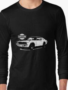 Nissan Datsun 240k (b&w) Long Sleeve T-Shirt