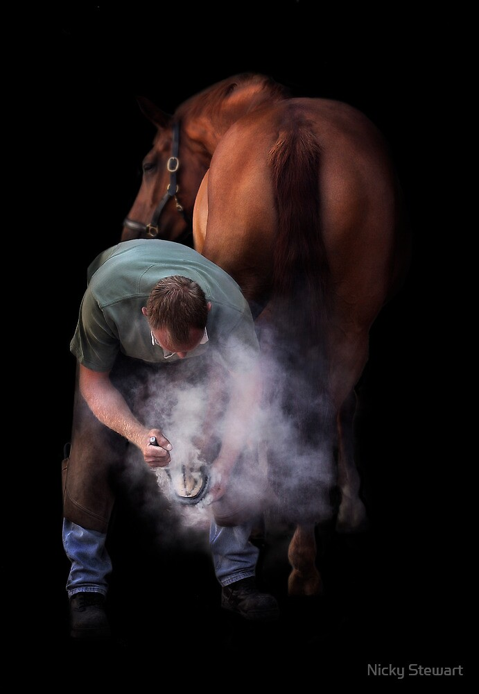 The Farrier by Nicky Stewart