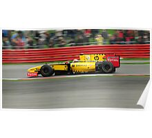 Renault World Series, Silverstone 2010 Poster