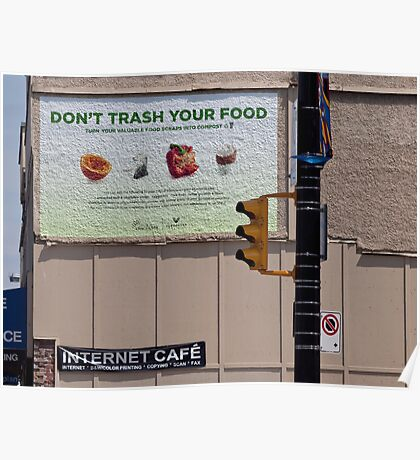 Compose the compost Poster