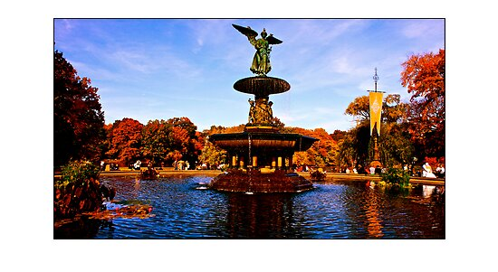 Bethesda Fountain by micpowell