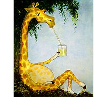Gerald's Afternoon Sip Photographic Print