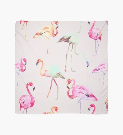 Flamingo Formation #redbubble Scarf