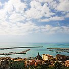 Calm Mediterranean afternoon, Port of Sciacca, Sicily by Andrew Jones