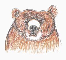 Grumpy Old Bear Kids Tee