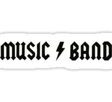 Steve Buscemi – Music Band – 30 Rock Sticker