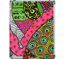Abstract Fluoro 2 alternate landscape view    iPad Case/Skin