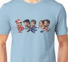 Formula 1 drivers 2010 - the championship battle! Unisex T-Shirt