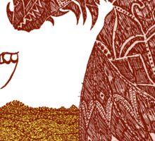 Smaug and His Treasure Sticker