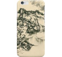 Picture of a series of abstract landscapes iPhone Case/Skin