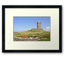Doolin Castle, County Clare, Ireland Framed Print