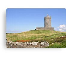Doolin Castle, County Clare, Ireland Canvas Print