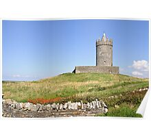 Doolin Castle, County Clare, Ireland Poster