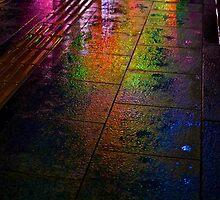 Hiroshima Neon Lights by Simon Read
