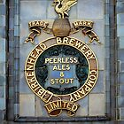 Historic brewery sign, England, UK by David A. L. Davies