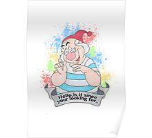 Smee from peter pan Poster