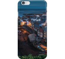Staithes at Dusk, North Yorkshire iPhone Case/Skin
