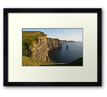 Cliffs of Moher, Sunset, County Clare, Ireland Framed Print
