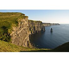 Cliffs of Moher, Sunset, County Clare, Ireland Photographic Print