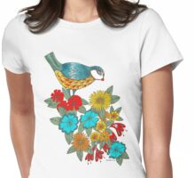 Exotic bird Womens Fitted T-Shirt