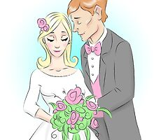 Bouquet Couple by angmermsmith