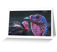 Inapproachable Beauty Greeting Card