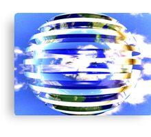 World Sphere Canvas Print