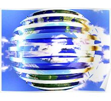 World Sphere Poster
