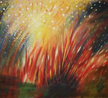 Red Bonfire by Clare McCarthy