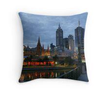 Melbourne Twilight Throw Pillow