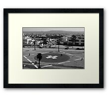 BACK DOWN TO EARTH Framed Print