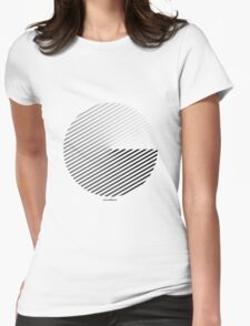 Stripes can be in a disc (BoW) Womens Fitted T-Shirt