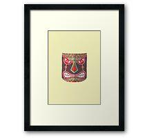 The Polynesian Mask Framed Print
