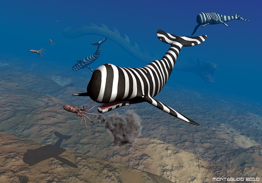 Predation in the deep by Kanaa