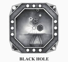 BLACK HOLE (rear view style) by Artpad