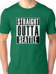 Straight Outta Seattle Unisex T-Shirt
