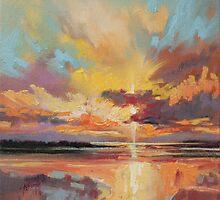 Loch Lomond Sunset by scottnaismith