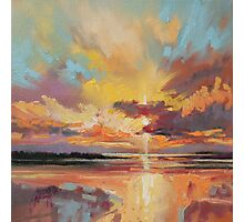Loch Lomond Sunset Photographic Print