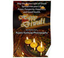 Happy Diwali (Festival of lights) Poster