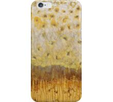 Abstract yellow painting iPhone Case/Skin