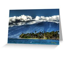 Mount Haleakalā Maui Greeting Card