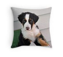 this is the cute look Throw Pillow