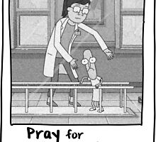 Pray for Mr. Poopybutthole - Rick & Morty by trebory6