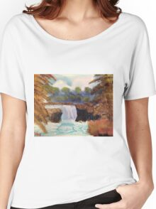 WaterFall Women's Relaxed Fit T-Shirt