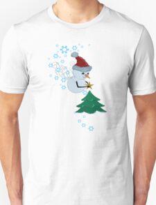 Enchanted Snowman T-shirt T-Shirt
