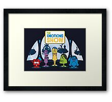 The Emotions Show Framed Print