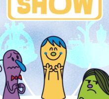 The Emotions Show Sticker