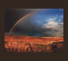 Half rainbow over Ihlara valley T-Shirt