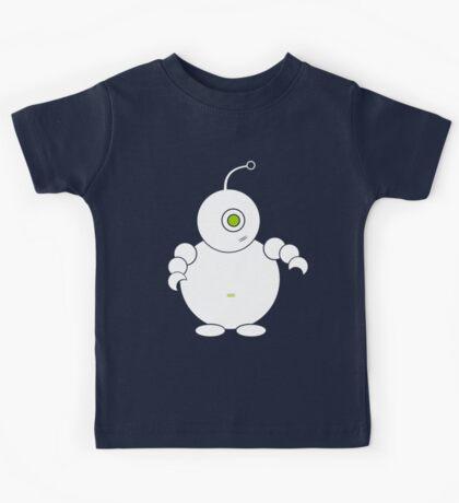 Cute Bubble Robot Kids Tee
